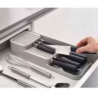 Кухонный ящик для хранения лоток с отделениями кухонный нож сушилка Органайзер чехол для столовых приборов столовые приборы кухонные инст...