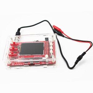 "Image 2 - Soldered DSO FNIRSI 138 2.4"" TFT Handheld Pocket size Digital Oscilloscope Kit SMD Soldered + Acrylic DIY Case Cover Shell"