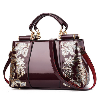 Women's Patent-Leather Shiny Bags