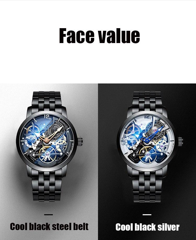 Hf18e55d562dd4d1b8b9829ab6af27bb0N AILANG Original design watch automatic tourbillon wrist watches men montre homme mechanical Leather pilot diver Skeleton 2019
