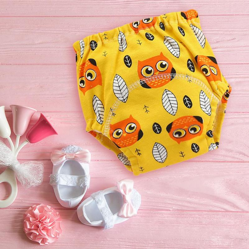 Washable Baby Nappies Washable Training Panties Reusable Cloth Diapers Baby Care Comfortable Breathable Soft And Elastic