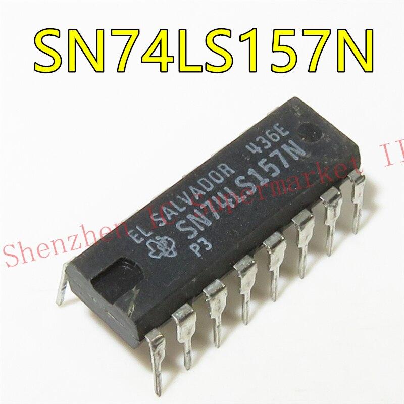 10PCS 74LS157N DIP16 SN74LS157N 74LS157 HD74LS157P HD74LS157 74LS157P IC