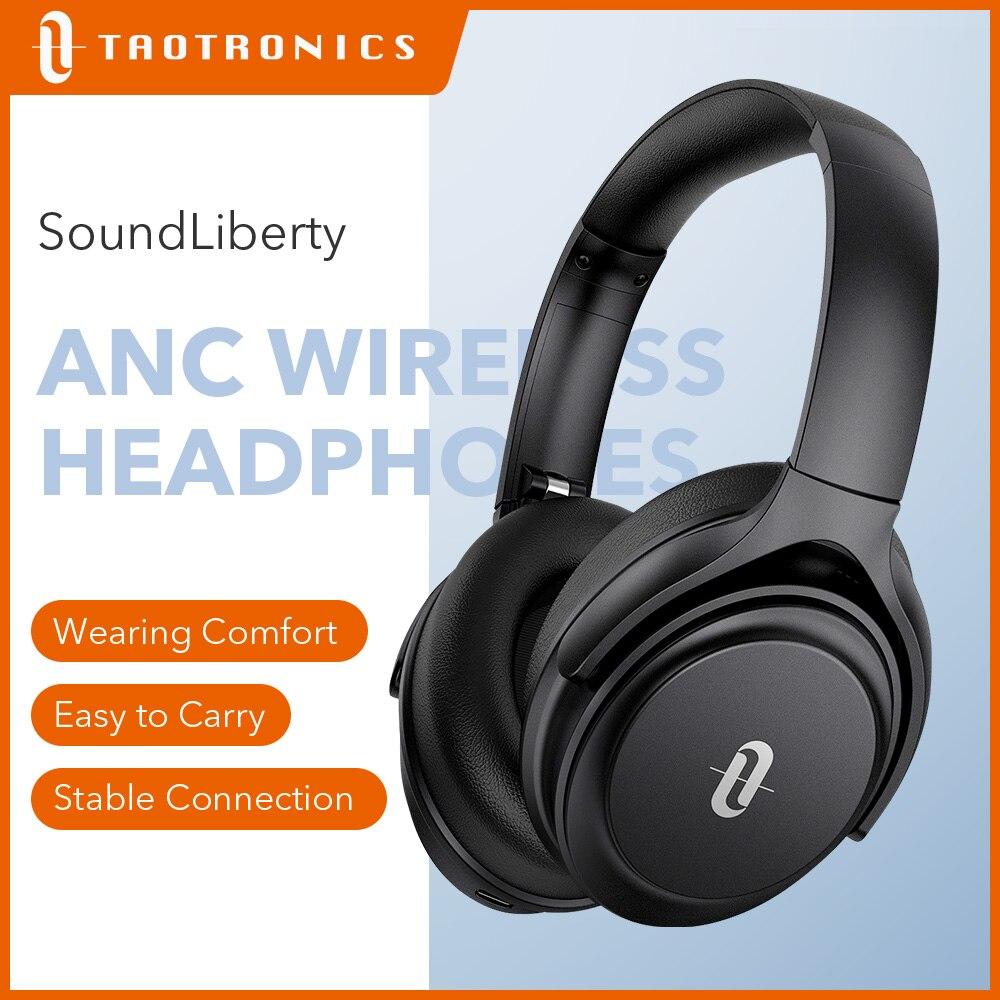 Беспроводные наушники TaoTronics SoundLiberty 85 TWS с шумоподавлением, гарнитура 40 часов воспроизведения, Bluetooth 5,0, наушники с микрофоном