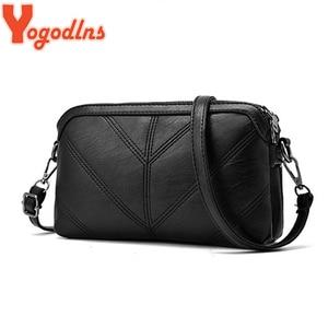 Yogodlns 2020 Summer Fashion Women Bag Leather Handbags PU Shoulder Bag Small Flap Crossbody Bags for Women Messenger Bags