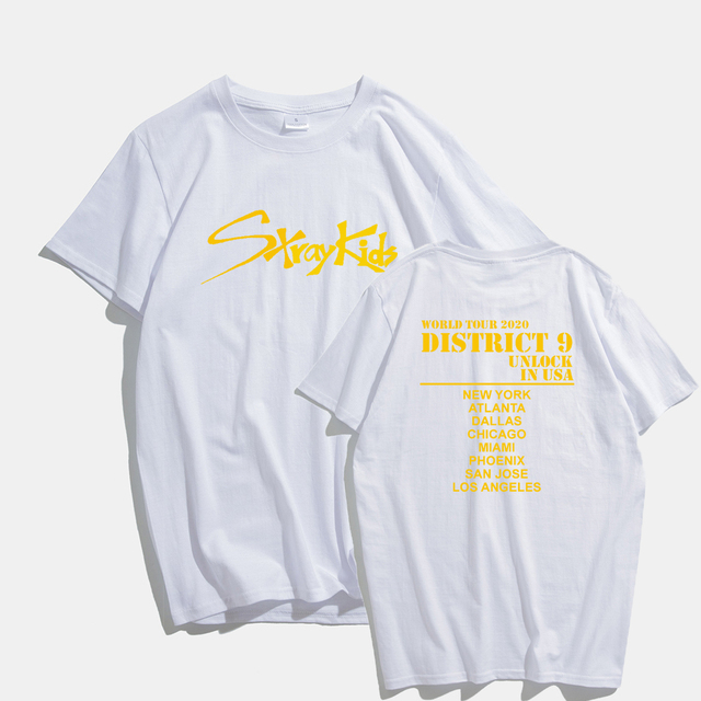 STRAY KIDS DISTRICT 9 T-SHIRT (4 VARIAN)