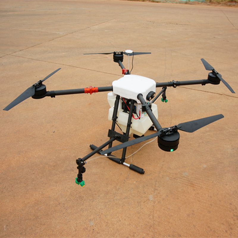 10L Agricultural Drone Uav 10kg 4-axis Sealed Agricultural Spraying Aircraft With FPV Hd Camera Night Light