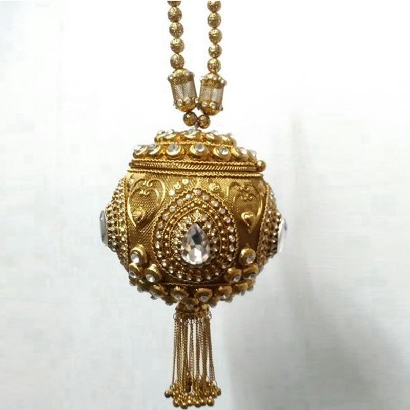 Feito à Mão para Mulheres Bolsas de Casamento Bolsas de Noite Doyutig Estilo Indiano Frisado Clutces Vintage Cristal Curto Borla Cross-corpo F707