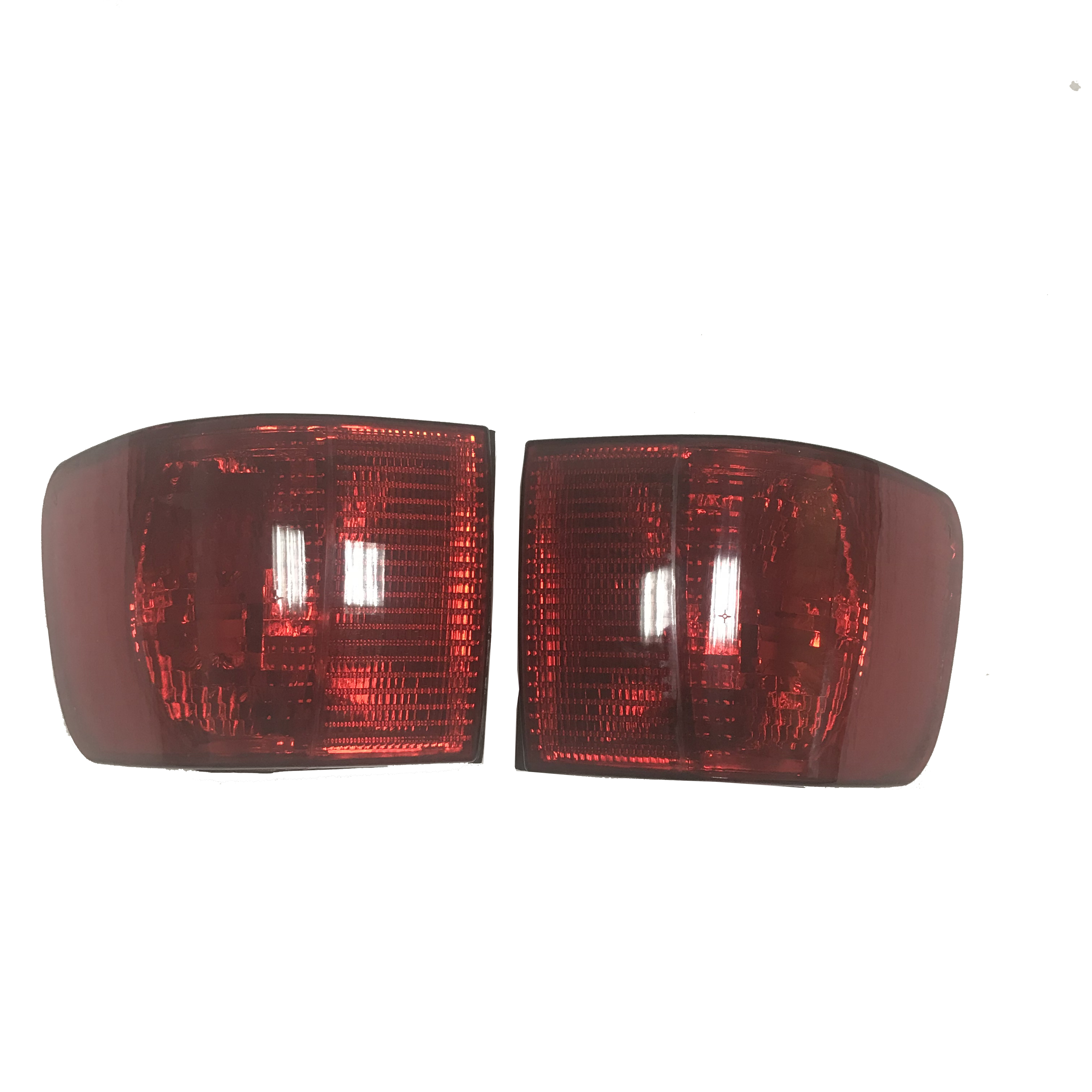 1 Pair Back Light For Audi A6 C4 Tail Light Rear Corner Brake Parking Turn Signal Light Lamp Red 1994-1997