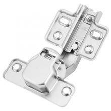 Stainless Steel Spring Hinge Corner Fold Cabinet Door 135 Degree Angle Hinge with Screws Glass Shower Doors Hinges 90 degree shower door hinge solid copper spring hinges glass to wall fitting glass clamp dc 3041