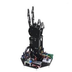 Bionic Robot bras de paume robotique pince à main griffe grand couple Servo doigt 5 doigt mouvement indépendant développement secondaire