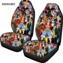 Instantarts аниме Короля Пиратов чехлы для сидений автомобиля