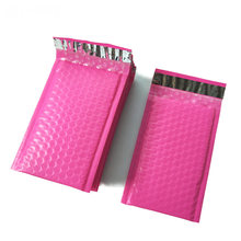 10pcs/4x7-Inch/120*180mm Poly Bubble Mailer Pink Self Seal Padded Envelopes/mailing bags(China)