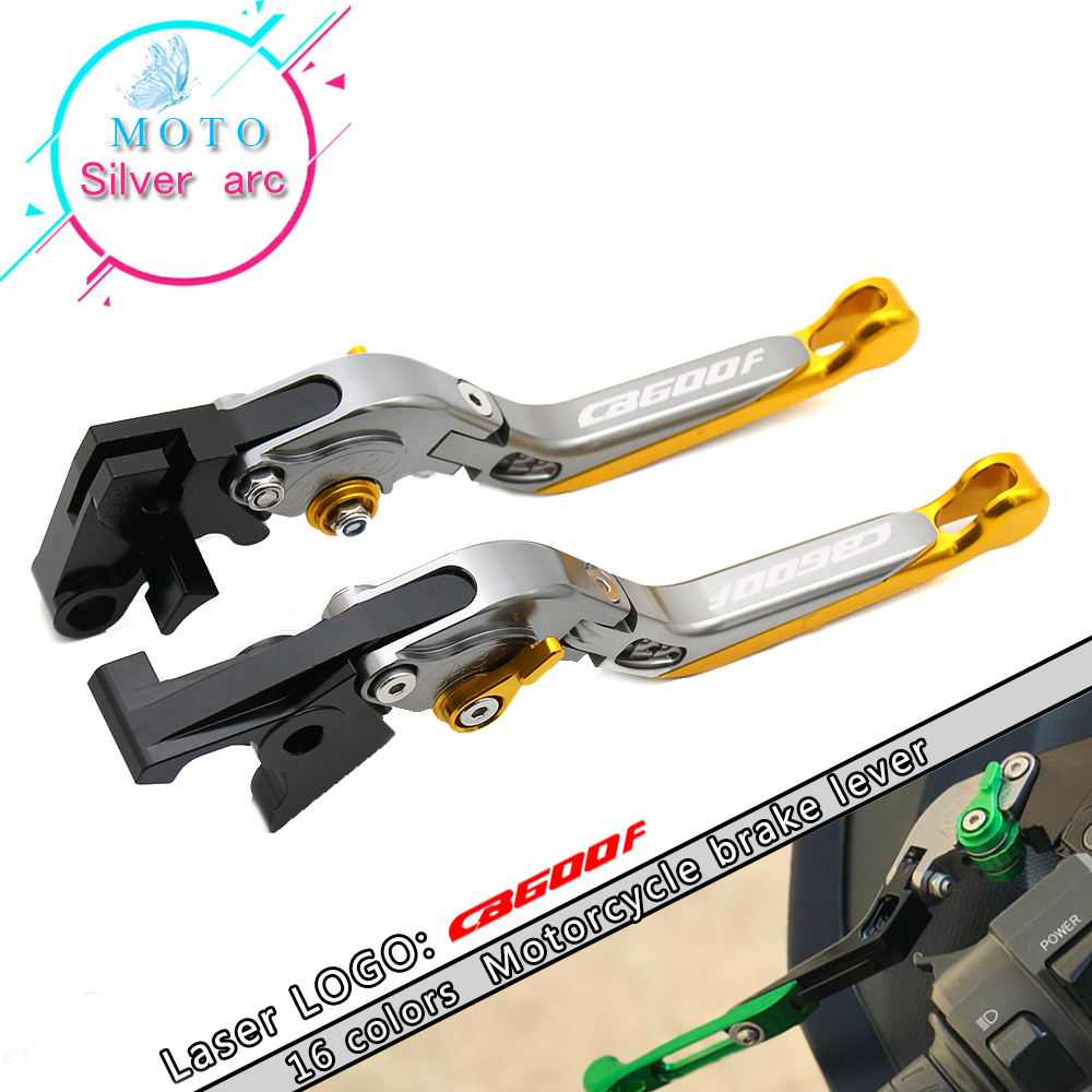 CNC Motorcycle Brake Clutch Levers For Honda CB600F CB <font><b>600</b></font> F <font><b>Hornet</b></font> 2007-2013 <font><b>2008</b></font> 2009 2010 2011 2012 image