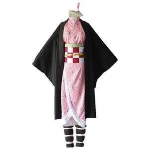 Image 4 - Женский костюм кимоно из аниме «рассекающий демонов», CS010
