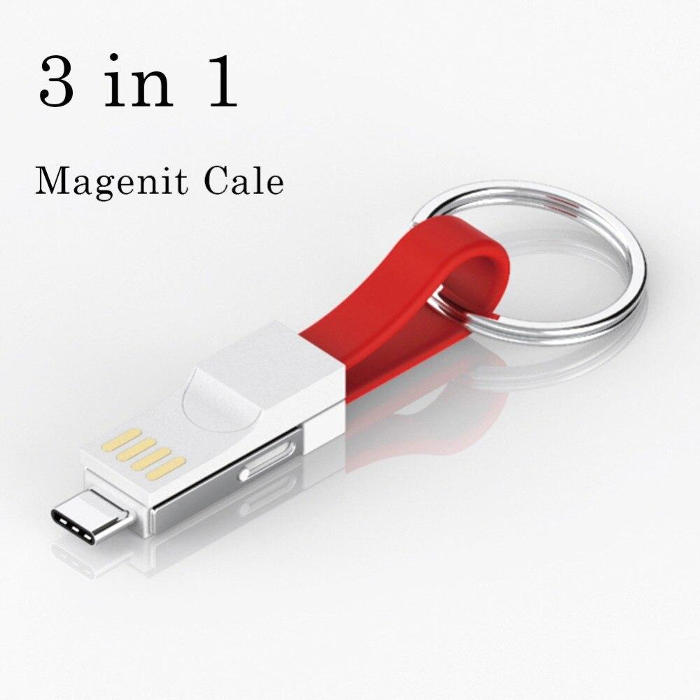 Keychain Mini USB Portable Cable