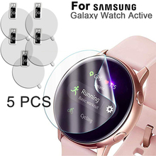 5 Pcs For Samsung Galaxy Watch Active SM-R500 Screen Protector