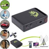 Mini araç GSM GPRS GPS Tracker veya otomobil araç takip bulucu cihazı TK102B arabalar, kamyonlar, tekneler için, motorlu evler