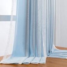 Полые прозрачные шторы со звездами оконные занавески для девочек