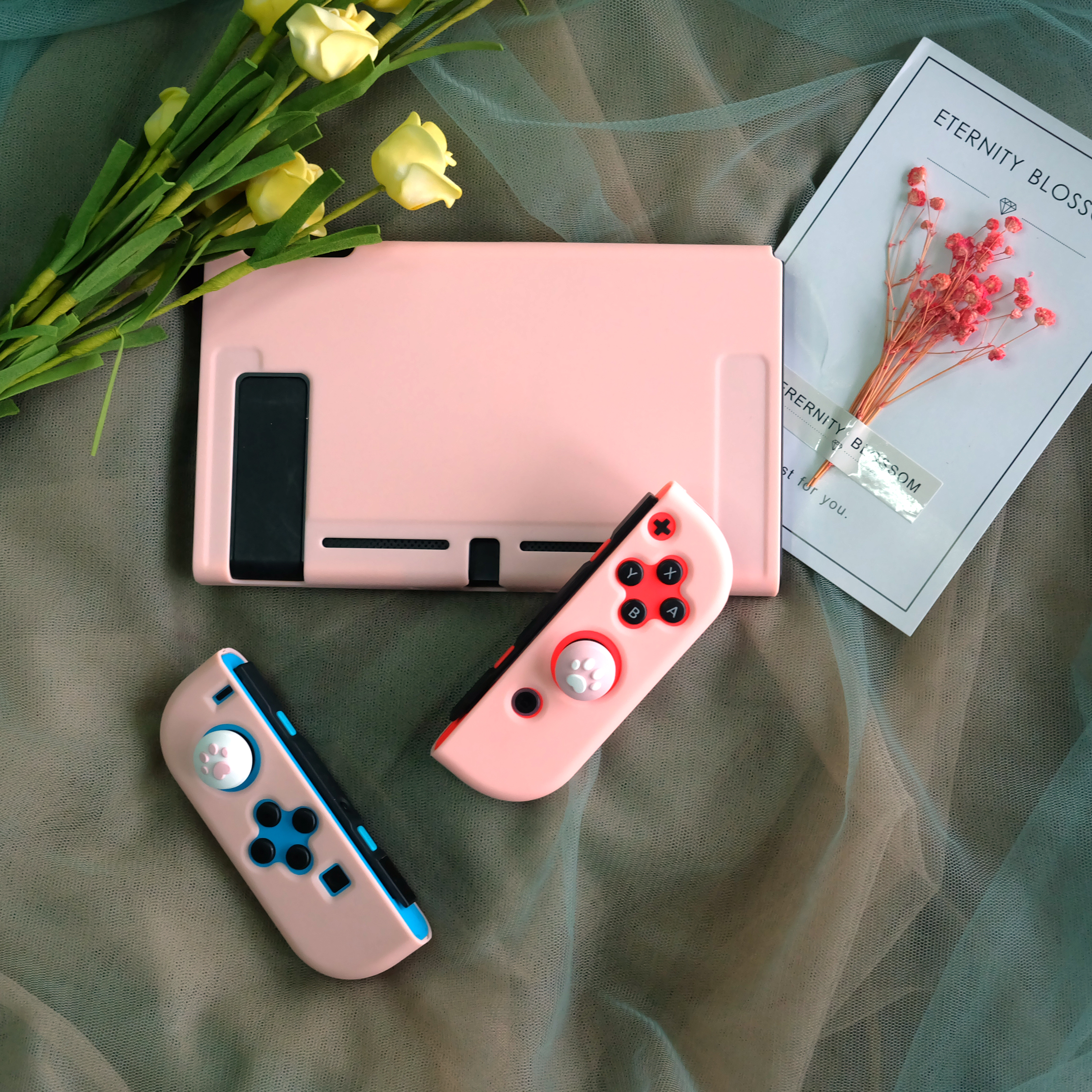 For Nintendo Switch NS Console Protective Shell Case Nintend Switch Joy Con Full Cover Hard Housing Colorful Shell Accessories