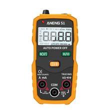 S1 Digital Multimeter Auto Range True RMS NCV with LCD backlight Flashlight 4000 Counts Data Hold