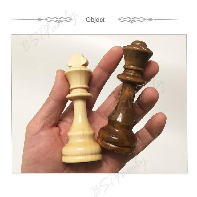 32 ou 34 pièces d'échecs en bois jeu d'échecs roi hauteur 105mm jeu d'échecs de voyage de haute qualité grand échiquier ou planche ou cadeau IA88 4