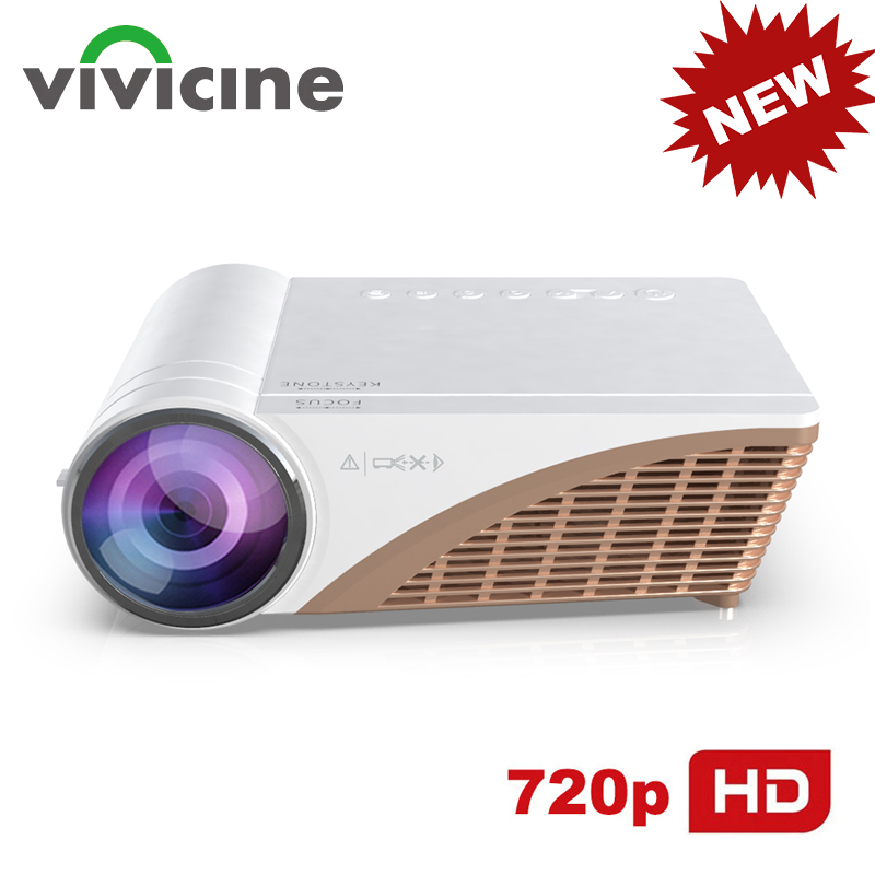 Vivicine V600 Support 1080p Portable HD Home Theater LED Smart Video ProjectorOption Android 10 HDMI USB Movie Proyector Beamer