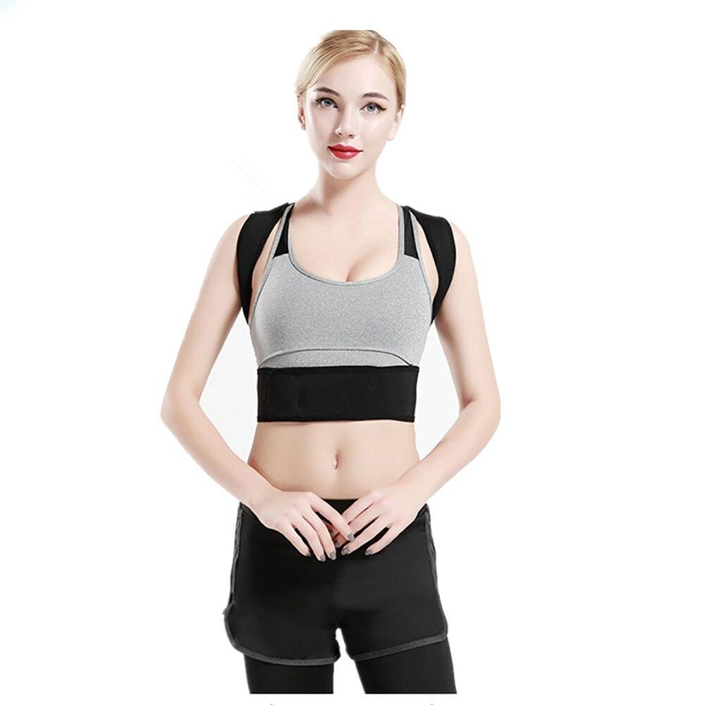 de correção leve invisível respirável corpo moldar postura correção