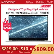 MAIBENBEN Laptop T537 15,6 FHD 1920*1080 ANZEIGEN Ryzen5 3550H Radeon RX560X 4GB GDDR5 CNC Gaming für gamer