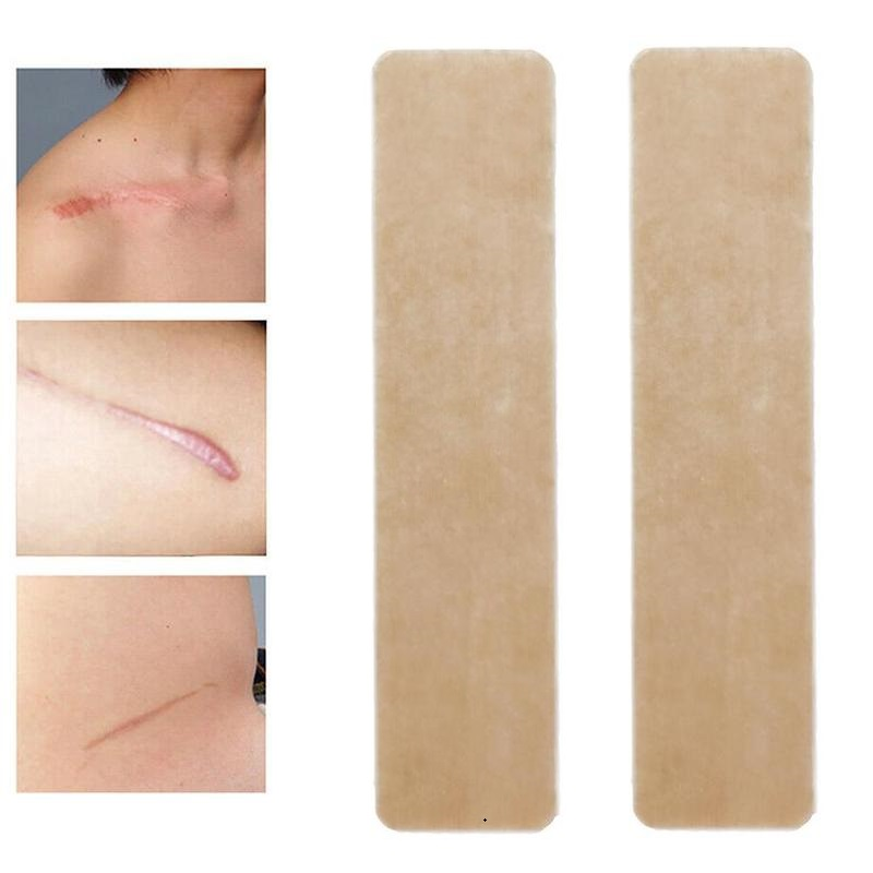Medical Scar Away Patch Silicone Gel Sheet Wound Marks Removal Cesarean Section Hypertrophic Keloid Skin Scars Therapy Treatment