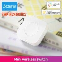 Aqara Mini Drahtlose Schalter Zigbee Verbindung Vielseitig 3-weg Control Taste für Smart Home Geräte Kompatibel mit Apple HomeKit