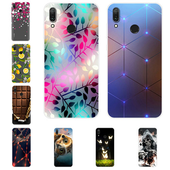 For Huawei Y3 Y5 2017 Y5 Y9 2018 Y5 2019 Case Silicone Painted Soft Phone Cover For Huawei Y9 Prime Y9 Y7 Y6 2019 Case Fundas image