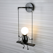2020 New Cute Design Wall Lamp Wall Mounted Light Bedside Lamp for Bedroom Corridor Aisle Staircase Portable