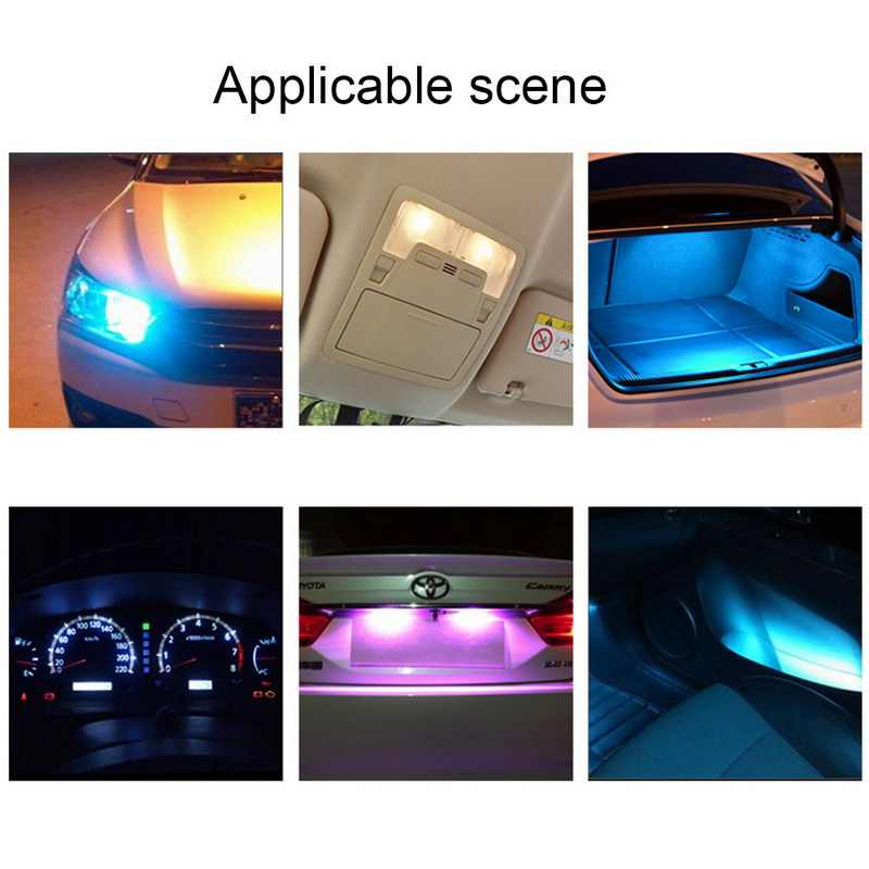 TOSPRA Auto Super brillante T10 Led COB CANBUS 194 W5W LED, luz de coche LIBRE DE ERRORES, bombilla de luz de matrícula lateral automotriz