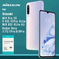 Nillkin for Xiaomi Mi 9 Pro 5G 9 8 9T Pro A3 Mi9 Mi8 SE Lite 9H Glass Tempered Glass Screen Protector for Redmi Note 8T 8 7 Pro