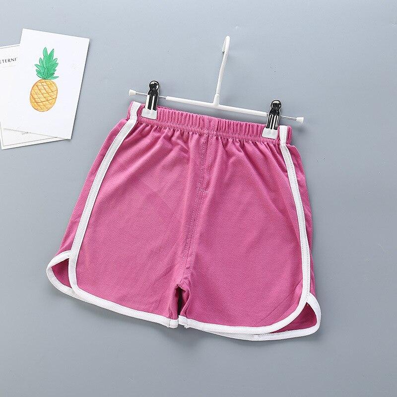 Summer Kids Shorts Boys Girls Shorts Casual Bottom Children Sports Clothes