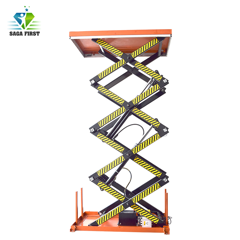 Electric Double Hydraulic Lift Table For Sales