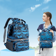 Backpack Baby Handbag Maternity-Diaper-Bag Food-Insulation-Storage Mommy Lunch Breast-Milk-Cooler-Pump