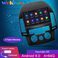 Wekeao Touch Screen 9'' Android 9.0 Car Radio Automotivo For Hyundai i30 Car Dvd Player Android Auto GPS Navigation 2006 2011 4G