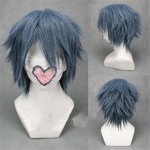 Game noctis lucis caelum cosplay wig final fantasy xv costume