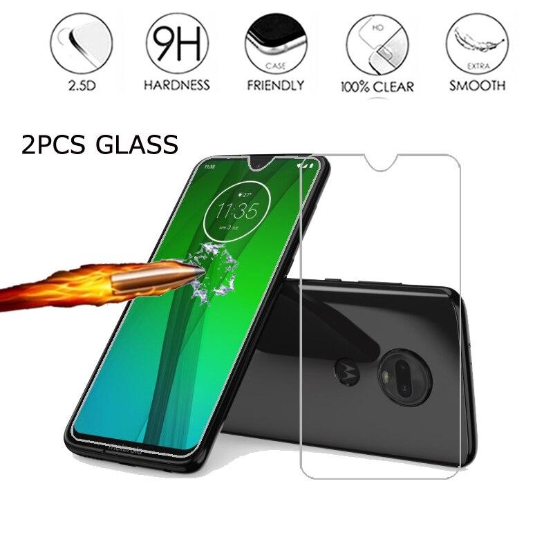 Verre trempé pour Motorola Moto G7 G8 Play Plus housse de protection pour Moto G7 puissance/Supra protecteur écran 9H HD Film verre