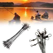 Рыболовная Приманка 10 шт/лот 15 см трос для спиннинга 2 снасти
