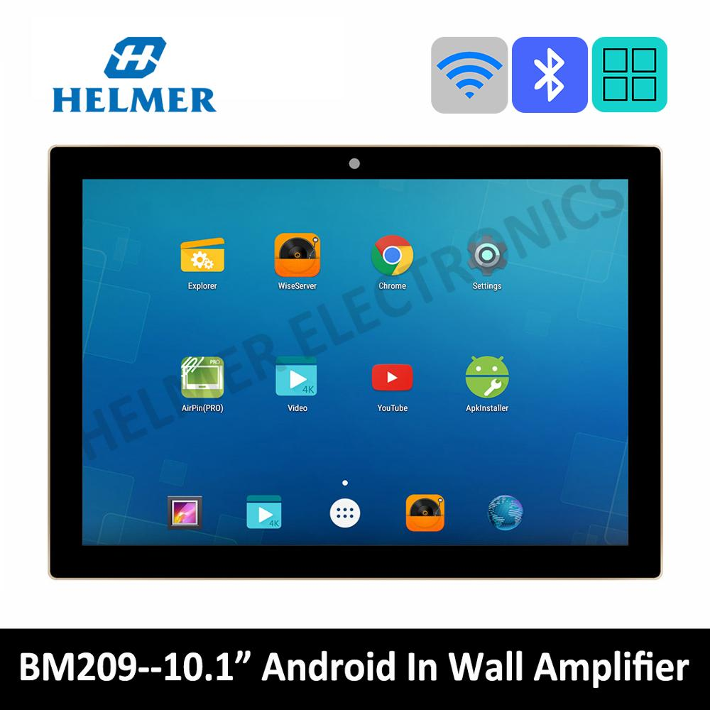 "10"" touch screen In wall WIFI amplifier,home audio system,class D digital stereo bluetooth amplifier,android home theater system 1"