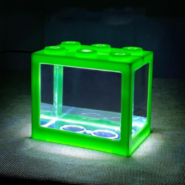 Stackable Desktop Mini Reptile & Fish Tank  5