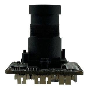 Image 1 - F1.0 m16 lente starlight baixa iluminação sony imx335 + hi3516ev300 5mp 2592*1944 h.265 650nm toda a cor com radiador onvif cms