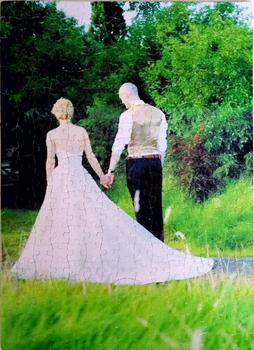Large Personalised Puzzle 300-2000pcs Custom Jigsaw Add your Photo Wood Picture Puzzle Your Picture Puzzle Wedding Birthday Gift