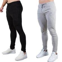Новые спортивные мужские штаны для бега повседневные спортивные обтягивающие брюки для бодибилдинга баскетбольные тренировочные спортивные штаны