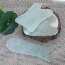 Jade Gua Sha Scraping Massage Tool Body Massager scratching Guasha stone SPA buffalo  Scraper for Face Health Care Anti-wrinkle недорого