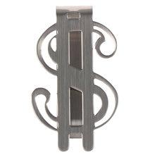 1 шт Нержавеющаясталь тонкий карманный зажим для денег кошелек