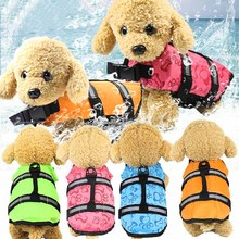 Vest Float Life-Jacket Pet-Dogs Pet-Swimming-Buoyancy-Jacket Puppy Rescue for 1pc Aid