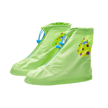 Yuding Slip-resistant Shoes Rain Cover Waterproof Outdoors Overshoes Galoshes Travel Kids Girls Boys Boots Protector